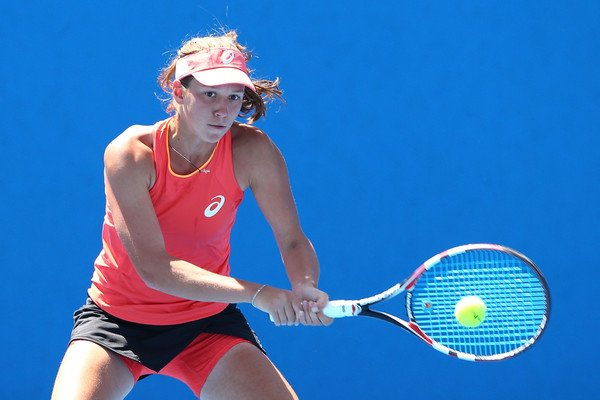 Lapko rushed into her first WTA quarterfinal