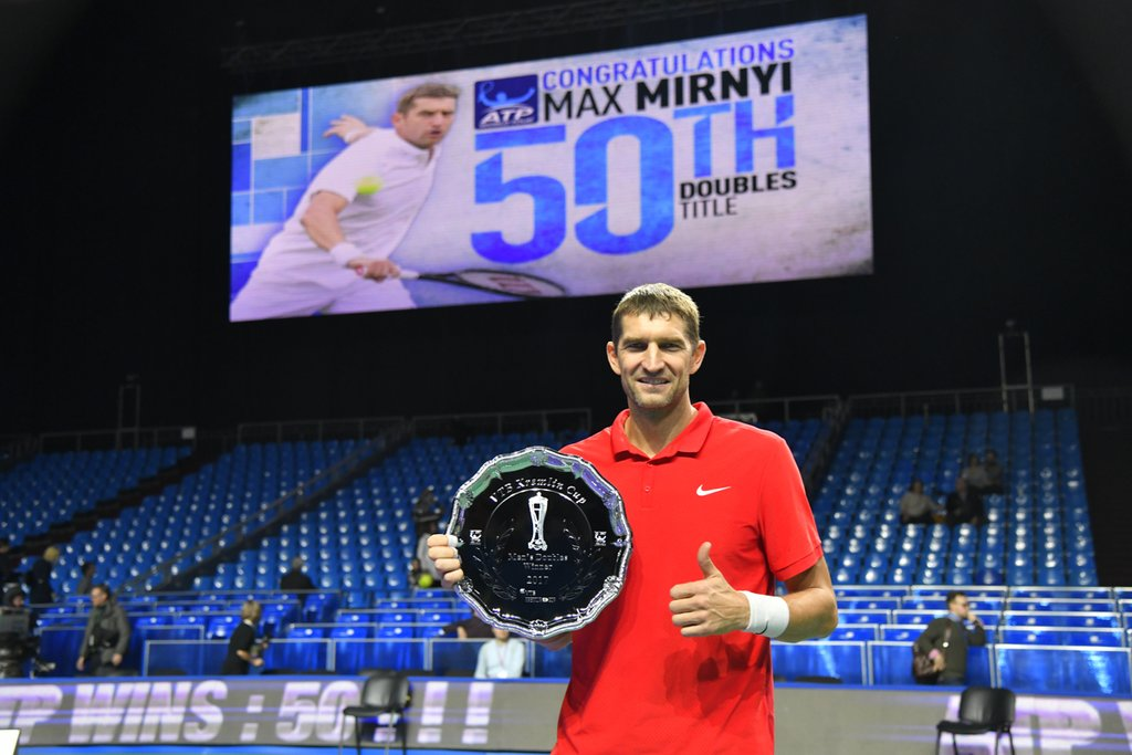 Max Mirnyi wins 1st title with Oswald and his 50th overall!