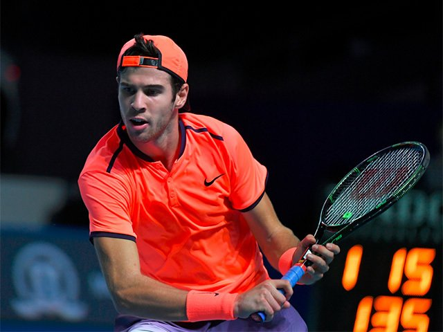 "Shoulder injury doesn't let Khachanov play on ""VTB Kremlin Cup"""