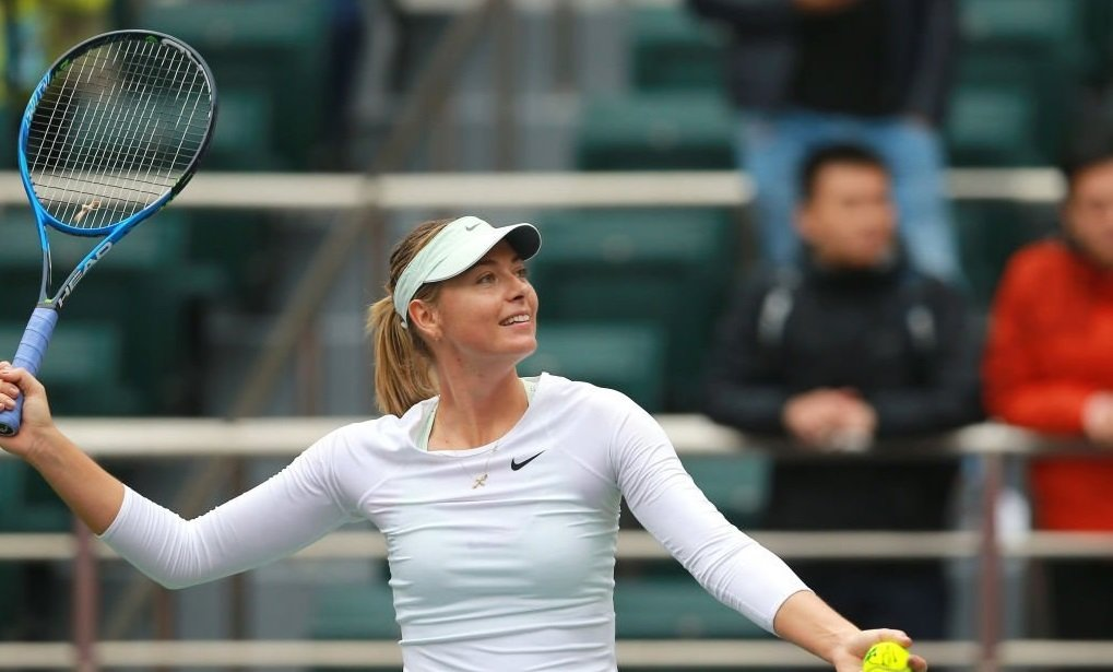 Maria Sharapova is the winner of the tournament in Tianjin